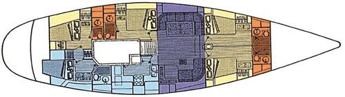 CAP II's layout