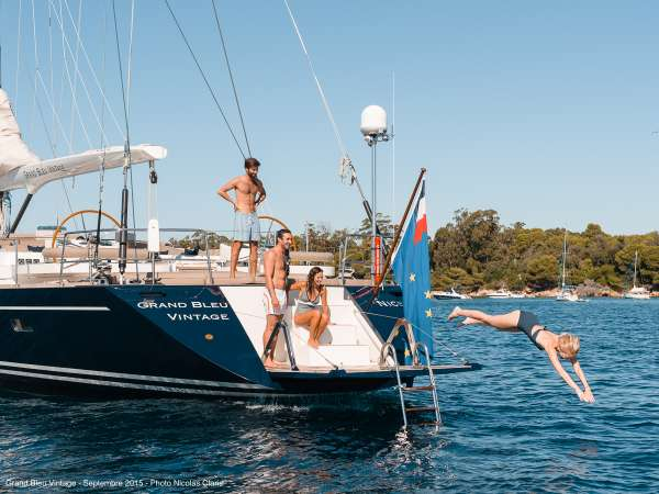 Yacht GRAND BLEU VINTAGE - 15