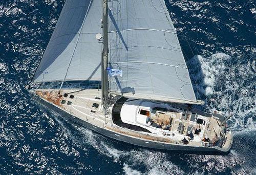 Yacht LUSKENTYRE