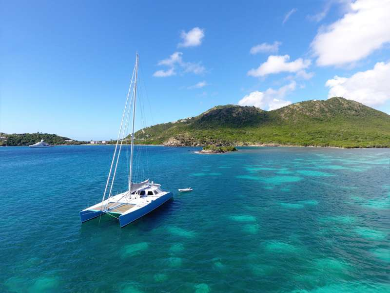 Charter with CERULEAN on compassyachtcharters.com