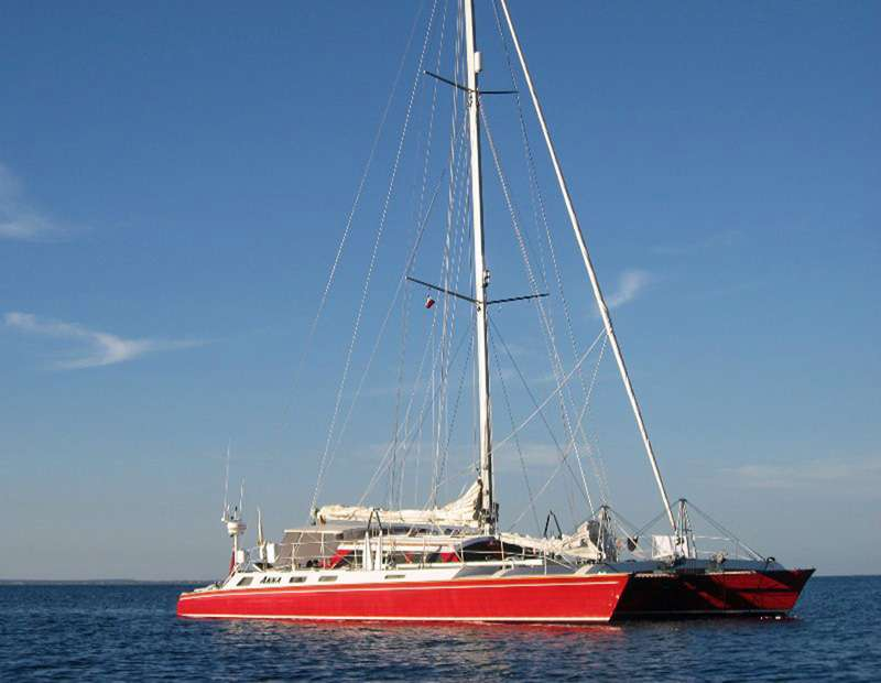 Charter with AKKA on compassyachtcharters.com