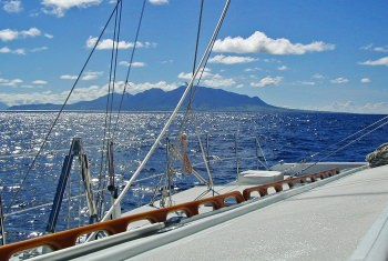 AKKA Sailing in the Caribbean