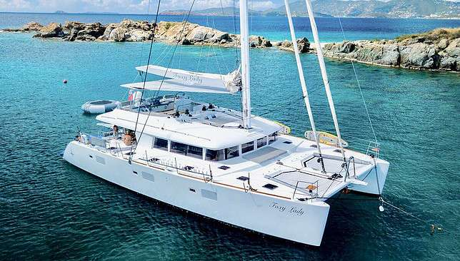 Charter with FOXY LADY on compassyachtcharters.com