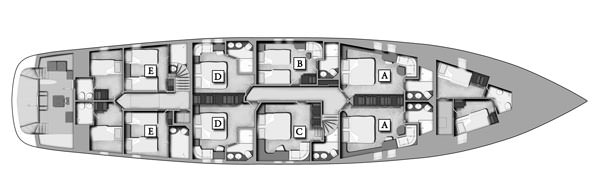 NAVILUX's layout