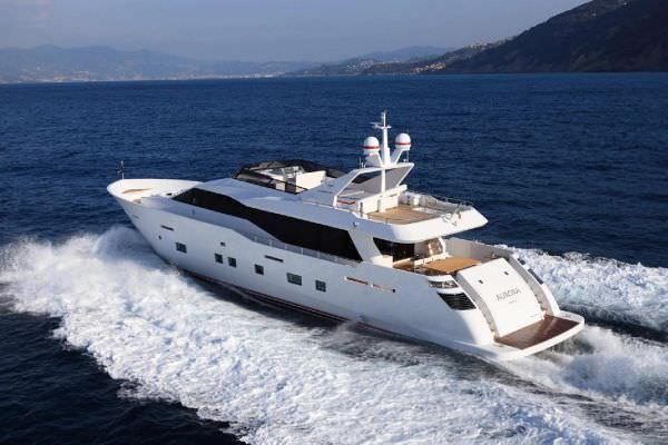 Charter with AURORA on compassyachtcharters.com
