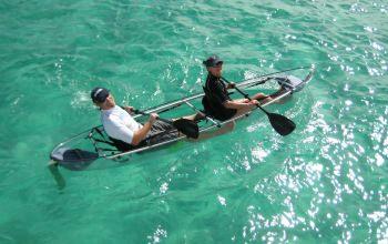 BARAKA Glass Bottom Kayak