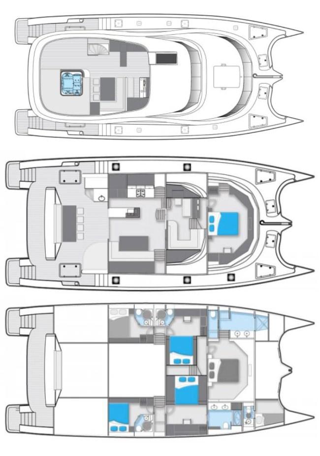 SKYLARK's layout