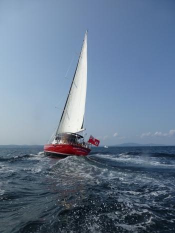 MUSTANG Sailing Fast