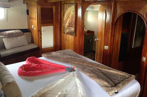 LADY ELIZABETH Guest Double Cabin Starboard Aft