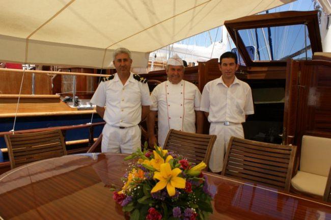 SAMARKAND's crew