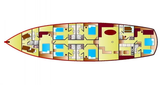 ZEPHYRIA II's layout
