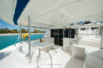 SEADUCTION Aft Deck / Dining area