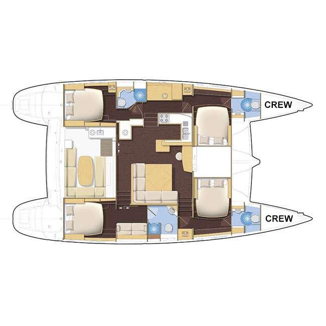 AZETA I's layout
