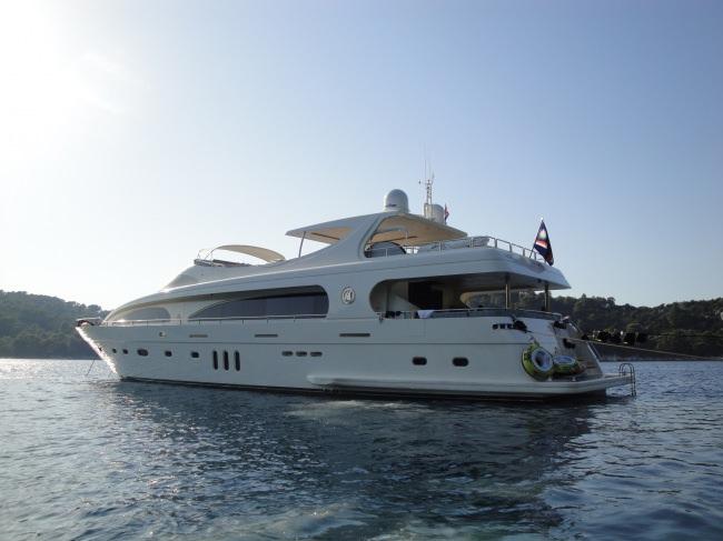 Yacht M&M 35M
