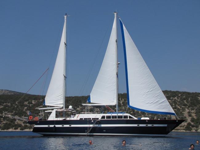 Yacht MEDITERRANEAN SEA