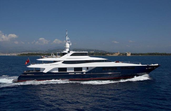 Yacht BURKUT