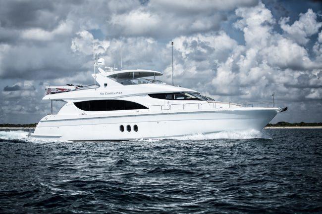 Yacht NO COMPLAINTS
