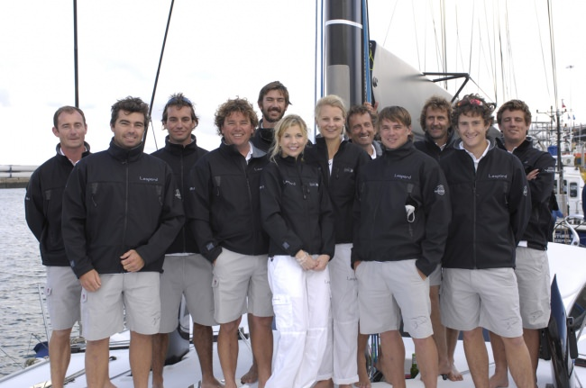 LEOPARD 3's crew