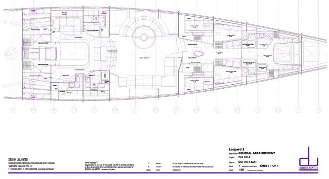 LEOPARD 3's layout