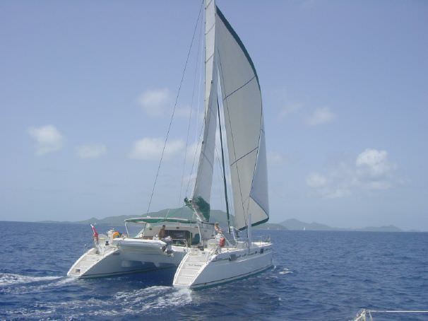 Charter with BLUE MOON C58 on compassyachtcharters.com