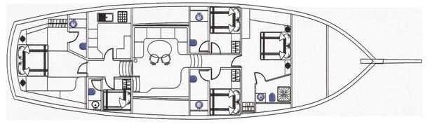 DEA DEL MARE's layout
