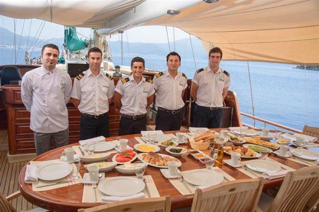 GRANDEMARE's crew