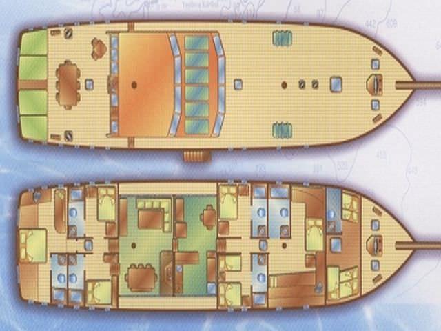 GRANDEMARE's layout