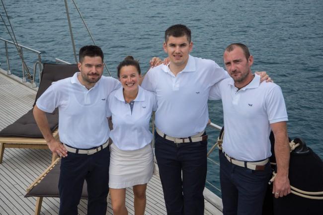 ALBA's crew