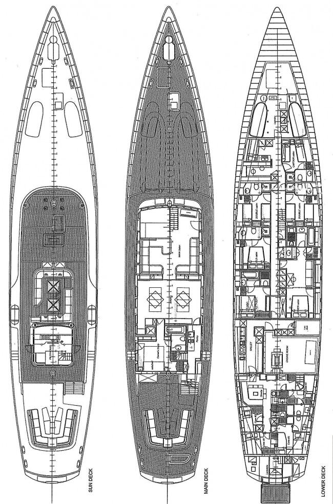 DIONE STAR's layout