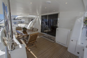 PERFECT SENSE Aft Deck