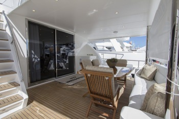 PERFECT SENSE Aft Deck Alternate View