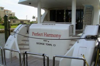 PERFECT HARMONY Aft View