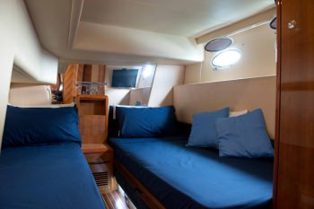 LADY FORTITUDE Twin cabin