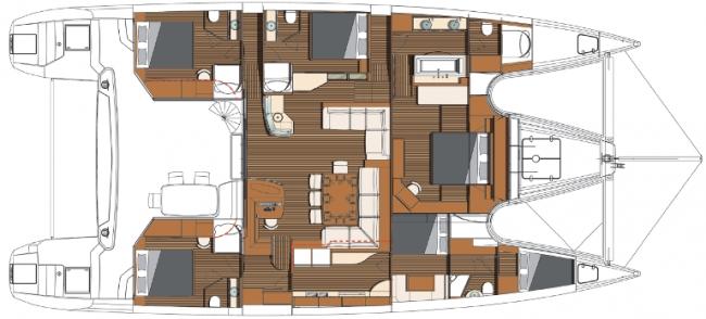 Xenia 74 Yacht Charter Catamaran Ritzy Charters
