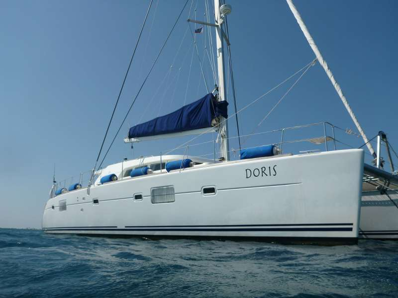 Charter with DORIS on compassyachtcharters.com