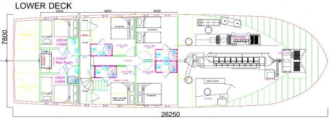 KAMA BAY's layout