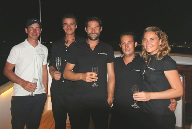 LIBERTUS's crew