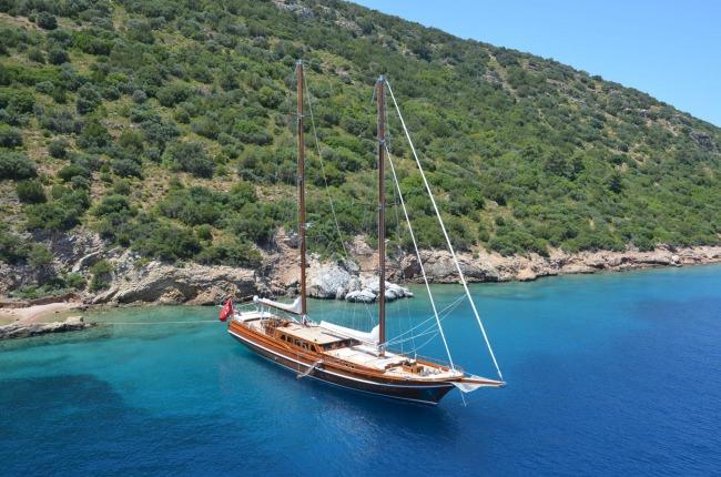 Yacht CAKIRYILDIZ