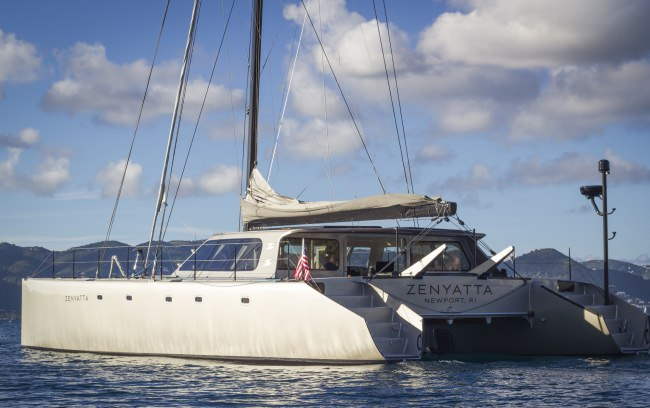 Yacht ZENYATTA