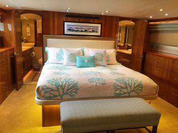 SEACLUSION Master Stateroom