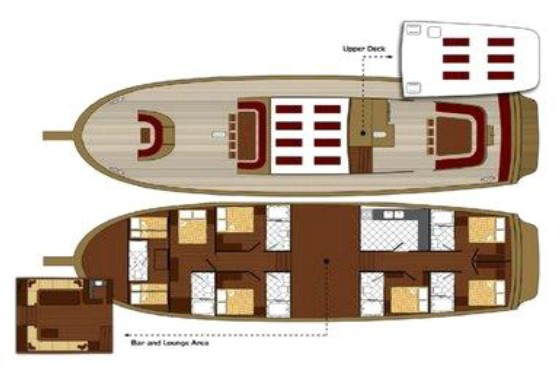 TERSANE IV's layout