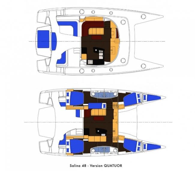 SALINA III's layout