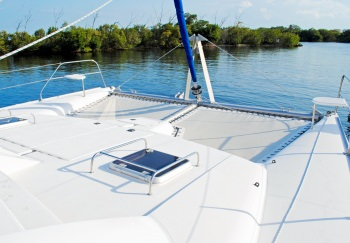 CALYPSO Foredeck and Trampolines