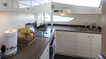 CRYSTAL PARROT Galley