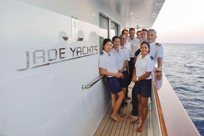 JADE 959's crew