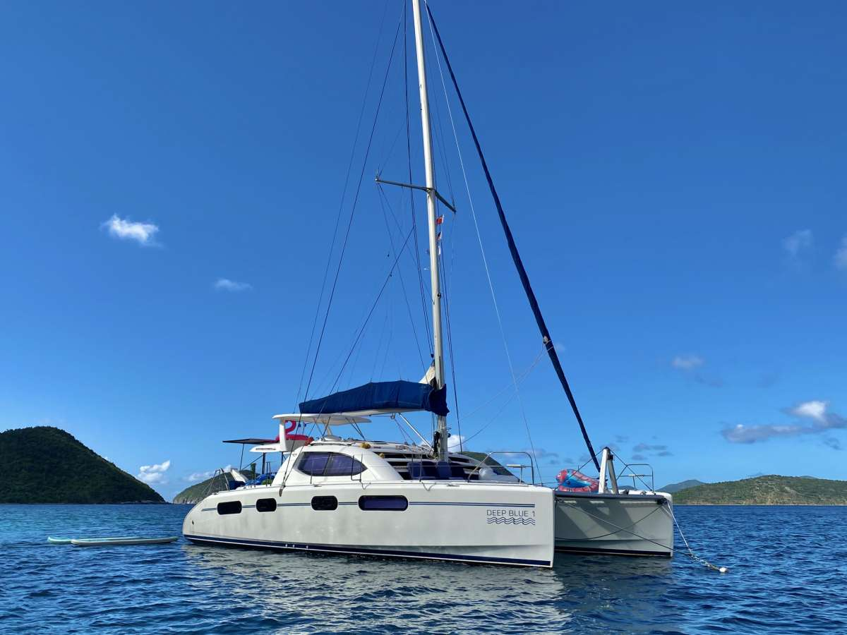 Charter with DEEPBLUE on compassyachtcharters.com