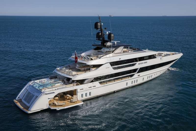 Yacht SEVEN SINS II