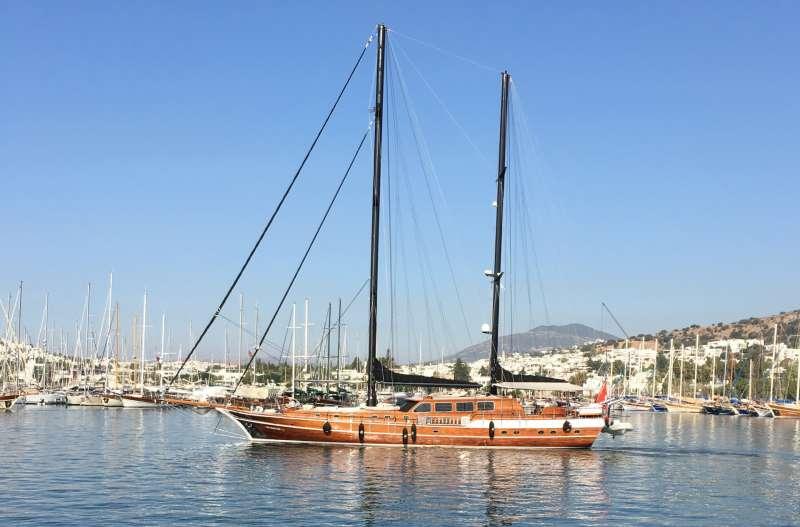 Imbarcazione KAYA GUNERI PLUS