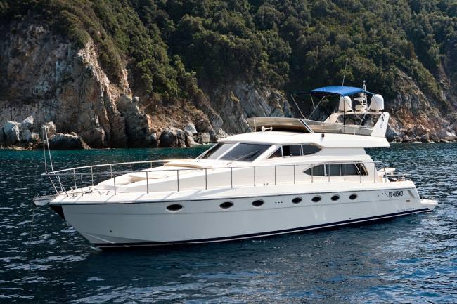 Yacht MELANY