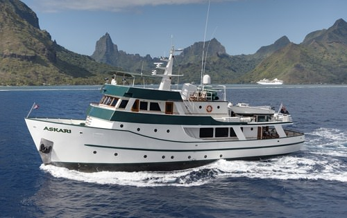 Charter with ASKARI on compassyachtcharters.com